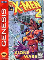 """""""X-Men Sega Genesis Clone Wars"""""""