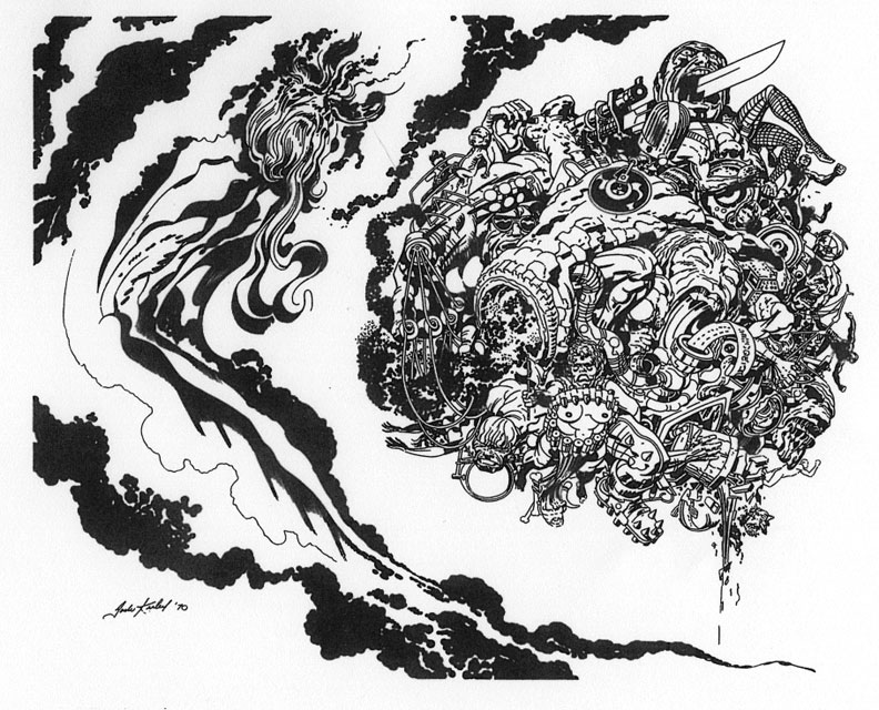 JACK KIRBYJack Kirby Art