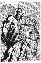 Thumbnail image for BRYAN HITCH FANTASTIC FOUR #443 COVER