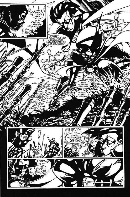 DAMION SCOTT 2001 BATGIRL # 19 p.18 Comic Art