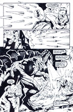 GREEN LANTERN ORIGINAL ART