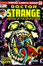 DOCTOR STRANGE COVER ART FRANK BRUNNER