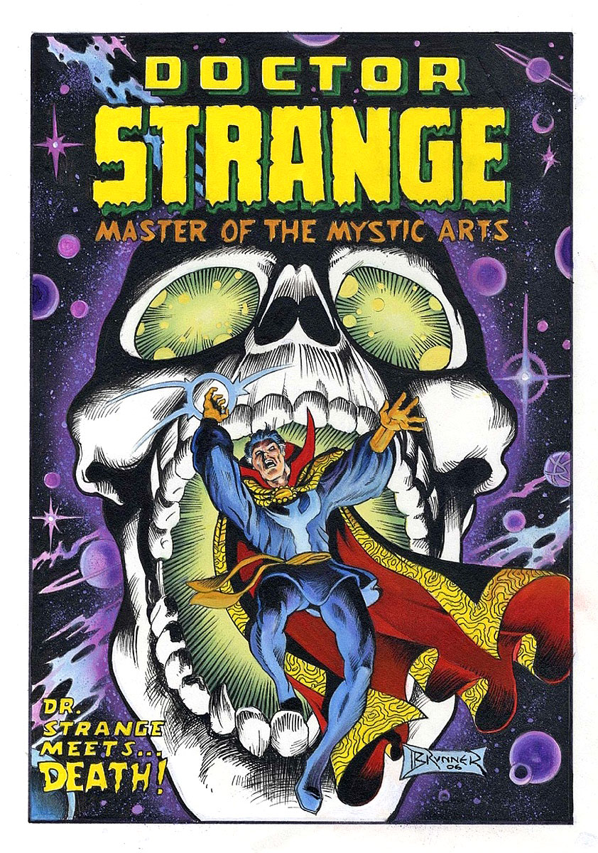 frank brunner doctor strange cover art