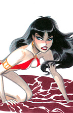 Thumbnail image for BRUCE TIMM COLOR VAMPIRELLA ART