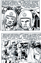 Thumbnail image for JACK KIRBY 1959 SKYMASTERS SUNDAY COMIC STRIP, KIRBY INKS