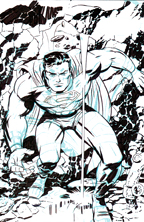 Thumbnail image for DARWYN COOKE INKED SUPERMAN DRAWING