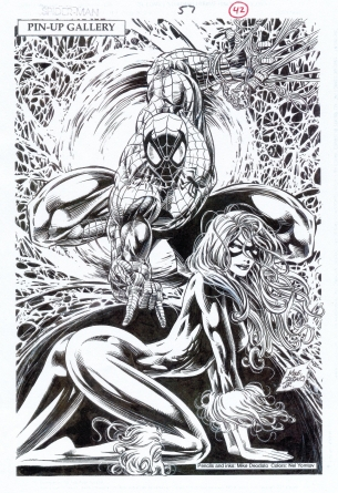 Mike-Deodato-1995-Spider-Man_Pinup