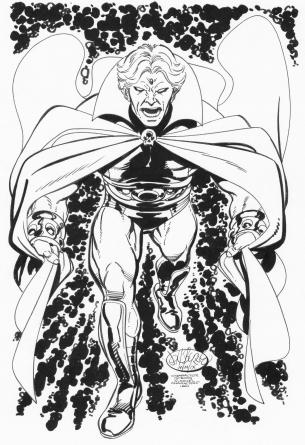 John Byrne Adam Warlock Drawing