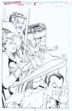 kevin-maguire-1991-defenders-original-art