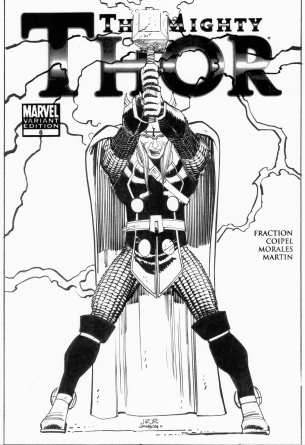 romita-jr-thor-6-cover-original-art