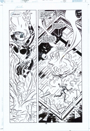 Darwyn-cooke-catwoman-original-comic-book-artwork-sale