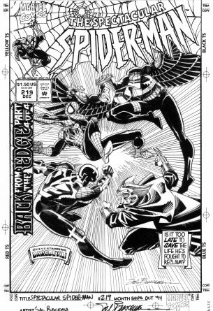 sal-buscema-spider-man-219-cover-artwork