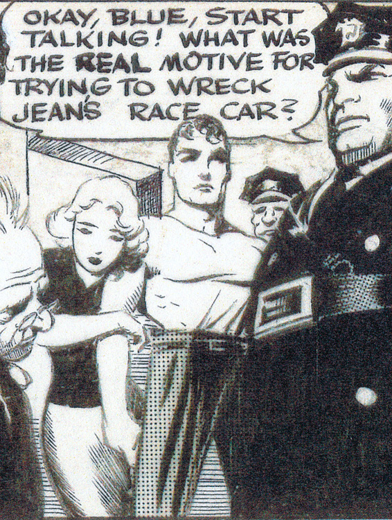 FRANK FRAZETTA 1952 JOHNNY COMET DAILY Comic Art