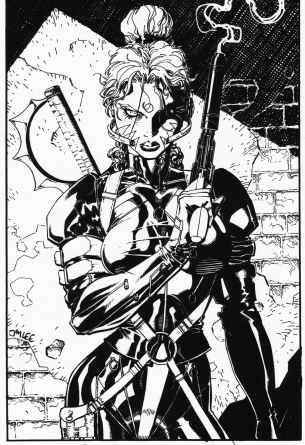 Jim-Lee-Wildcats-Original-Art
