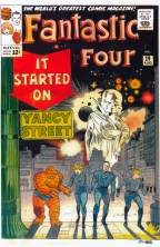 marvel cover artwork kirby fantastic four
