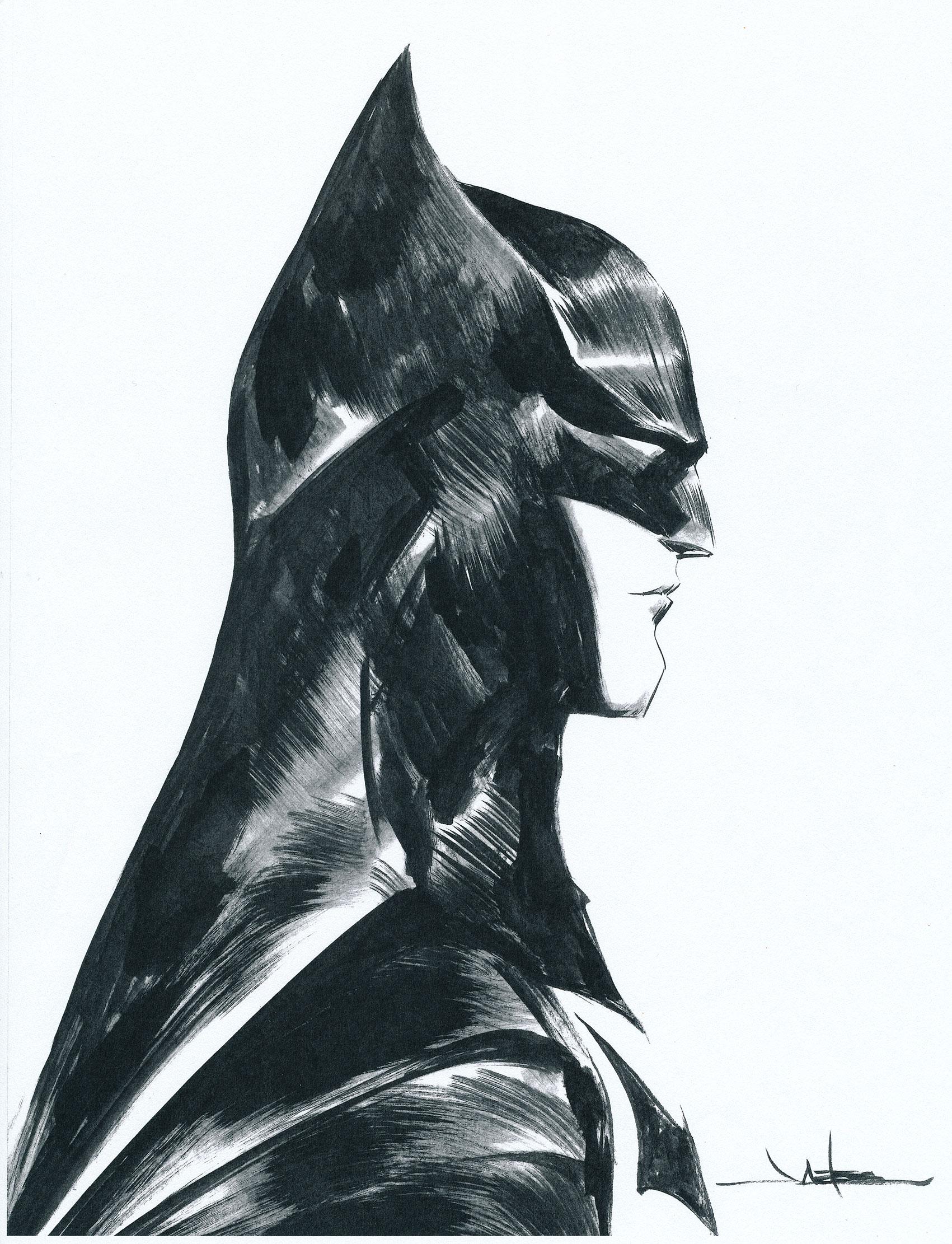 Jae lee inked batman artwork