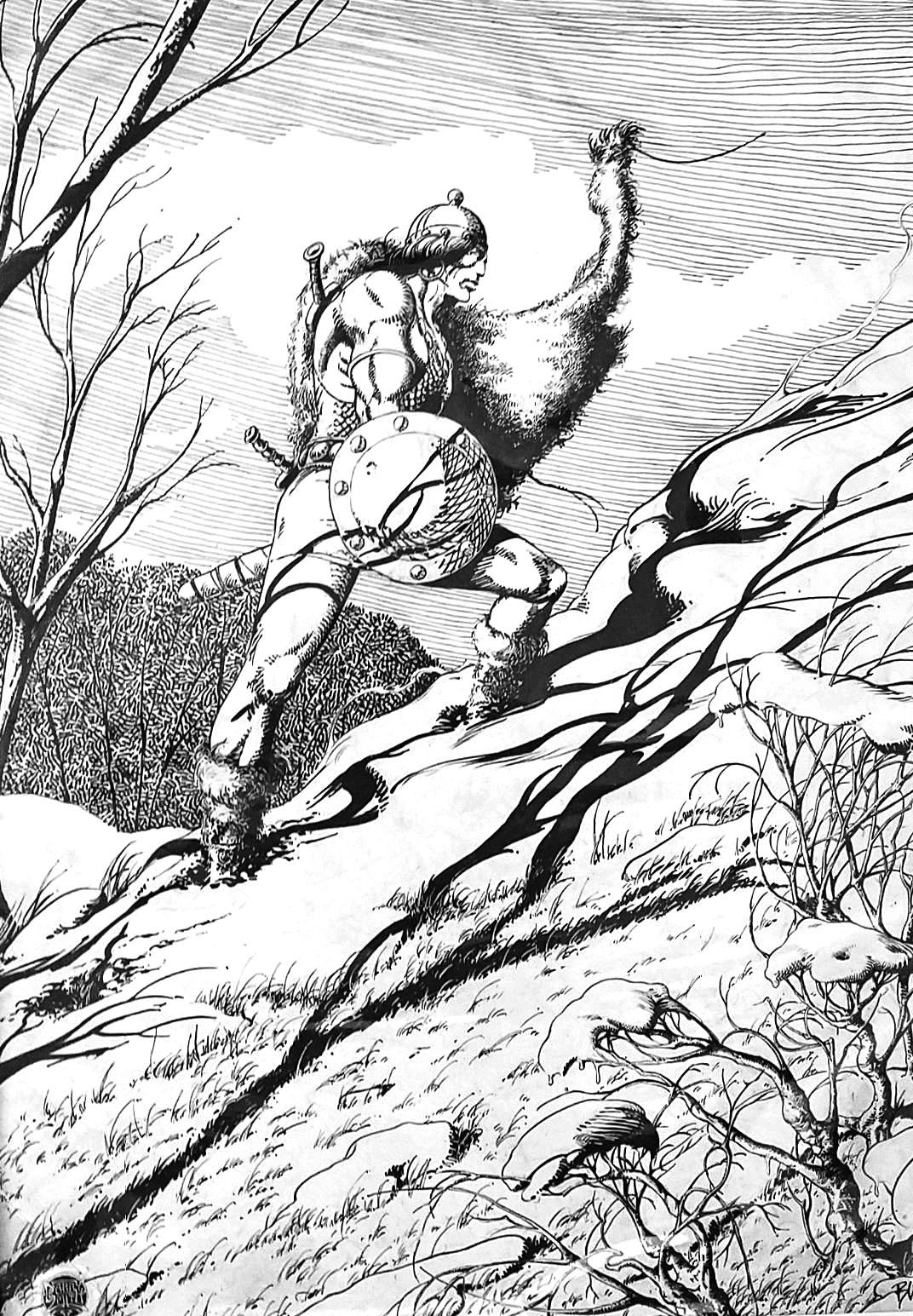 — Sale For Original Tri-State Art Original Comic Art
