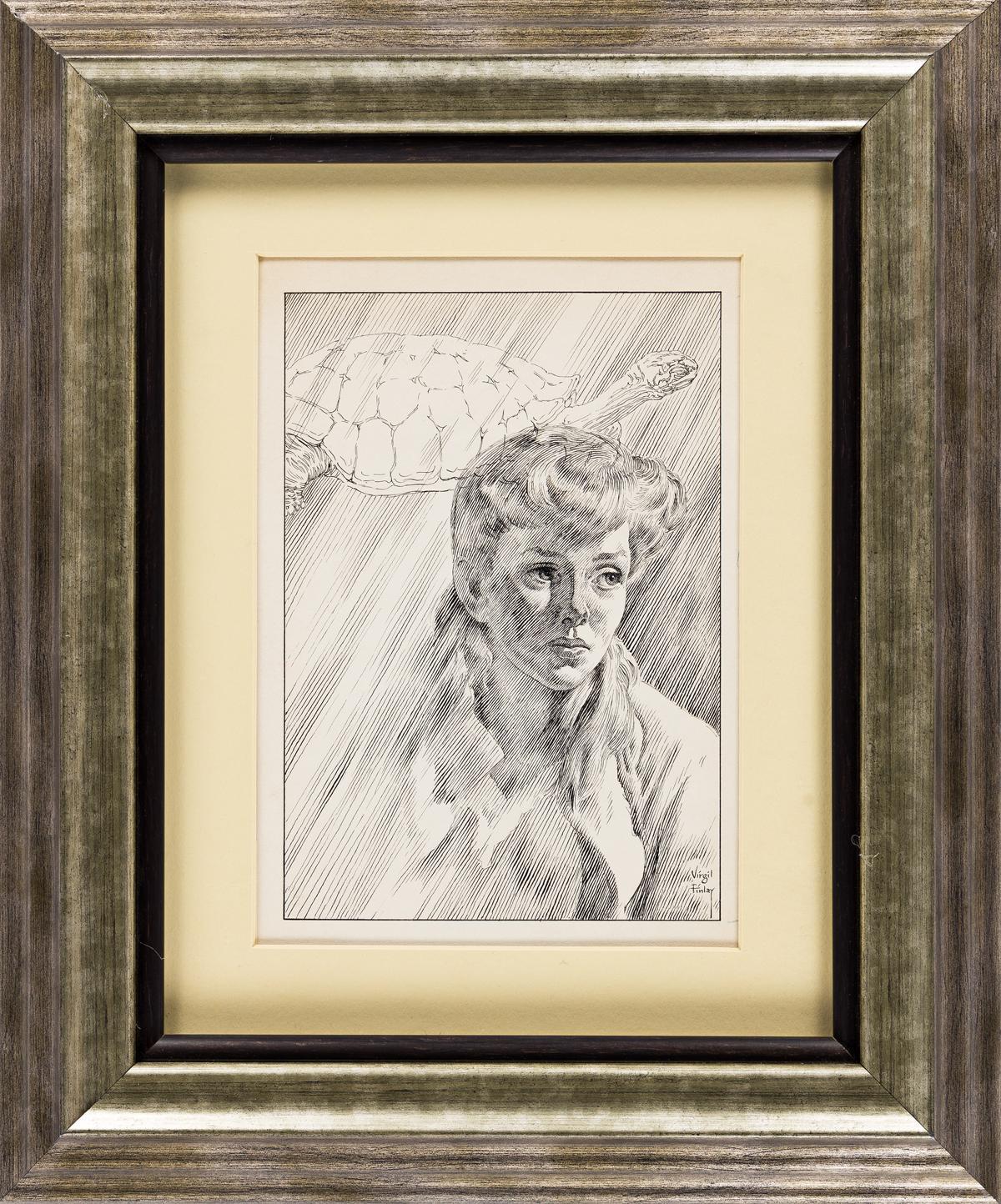 VIRGIL FINLAY ORIGINAL ARTWORK