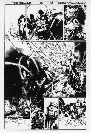 CHRIS BACHALO Dr Strange original Comic Art