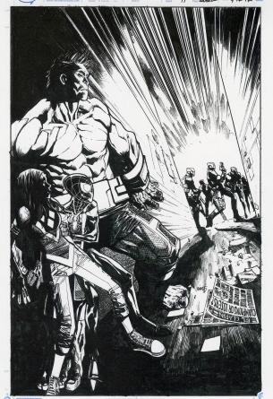 Humberto Ramo Marvel Cover Original Art