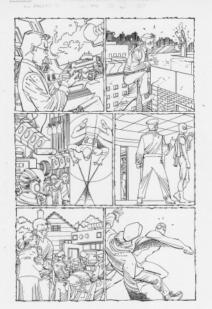 John Romita Spider-man original art