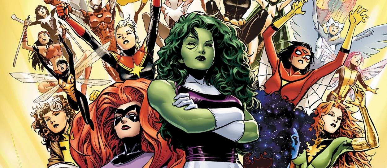 Marvel Comics Woman Characters