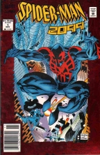 COVER TO MARVEL SPIDER-MAN 2099