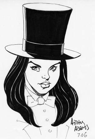 Zantanna drawing by Arthur Adams