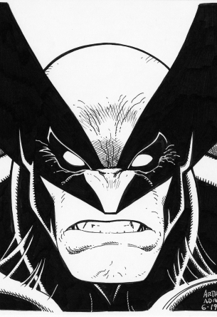 Arthur Adams X-Men Wolverine Drawing
