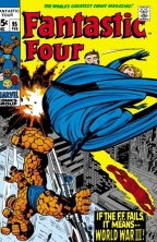 Fantastic Four Cover Jack Kirby