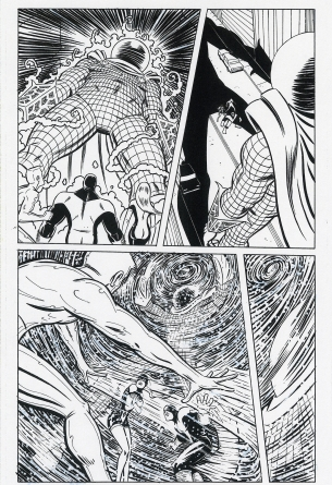 X-Men First Class Original Art