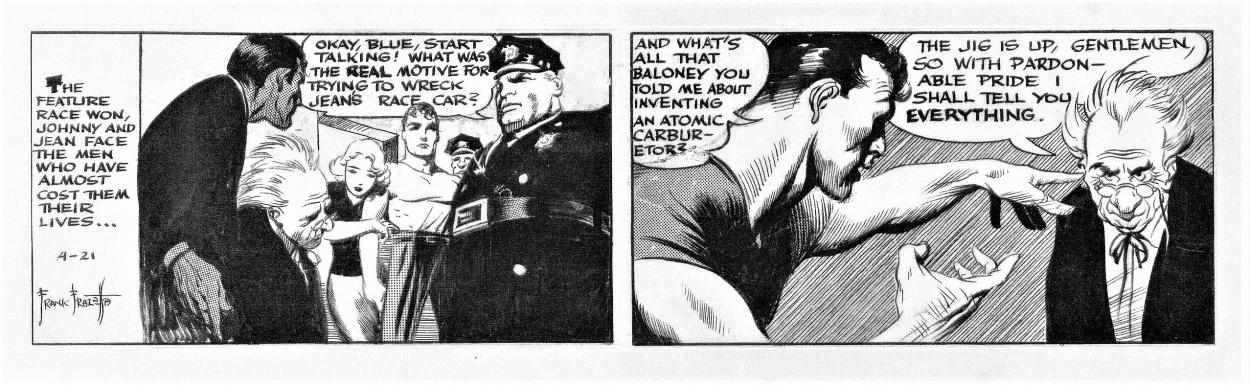 frank frazetta original comic art