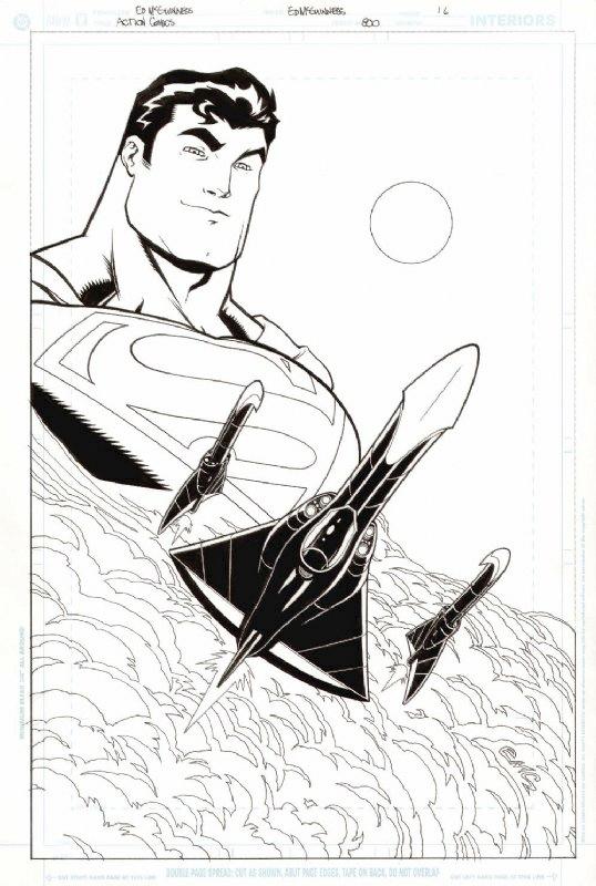 Original comic art: ED MCGUINNESS ACTION #800 P.16