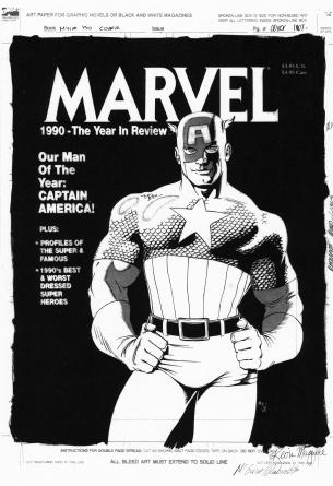 Captain America art