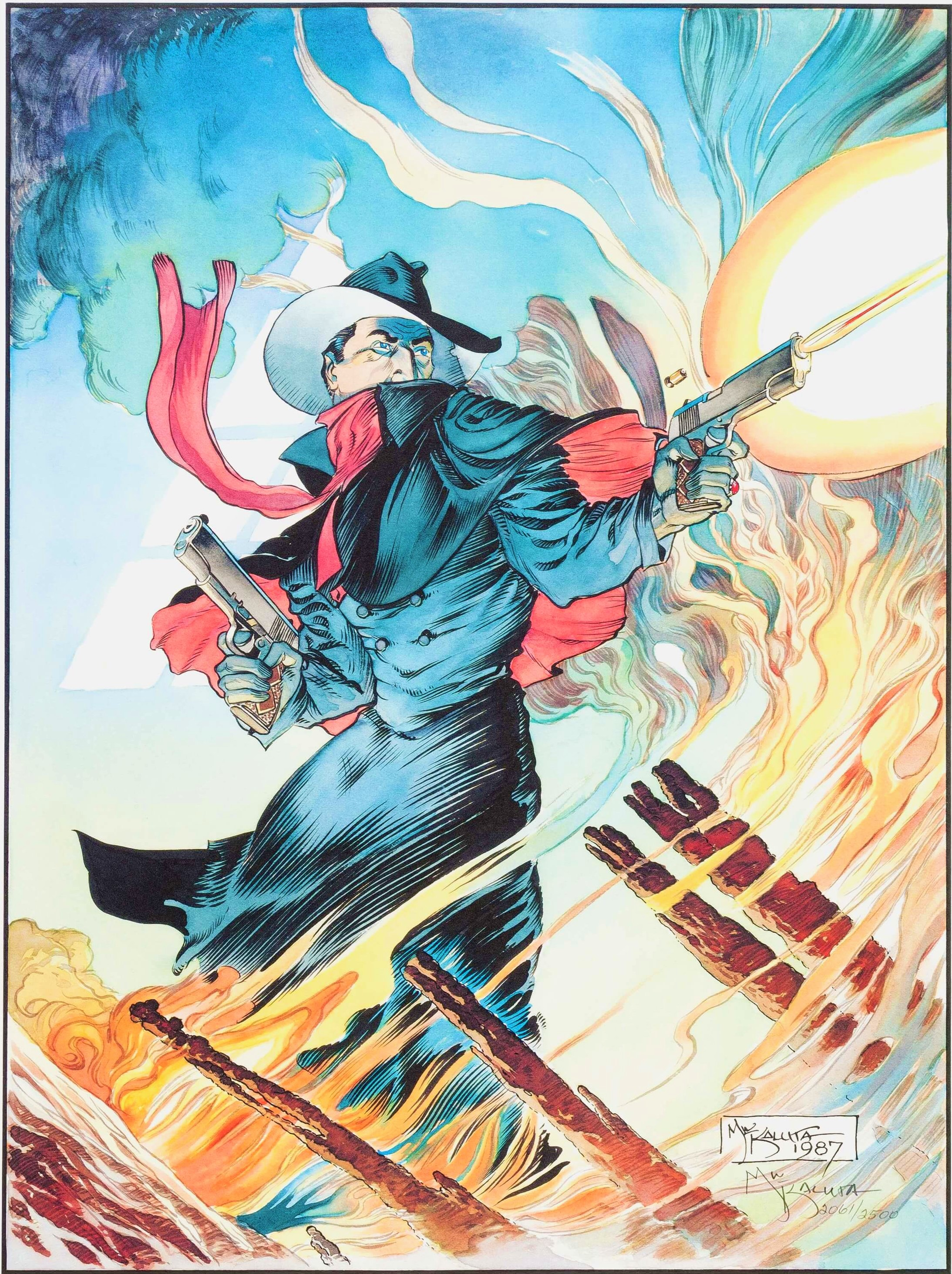 The Shadow by Michael Kaluta